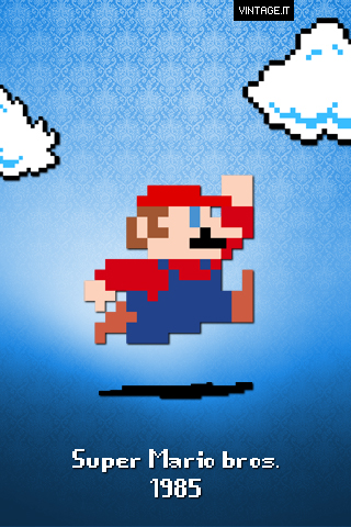 super mario bros wallpaper. Super Mario bros.